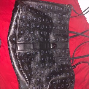 MCM Large Liz Tote Bag Black